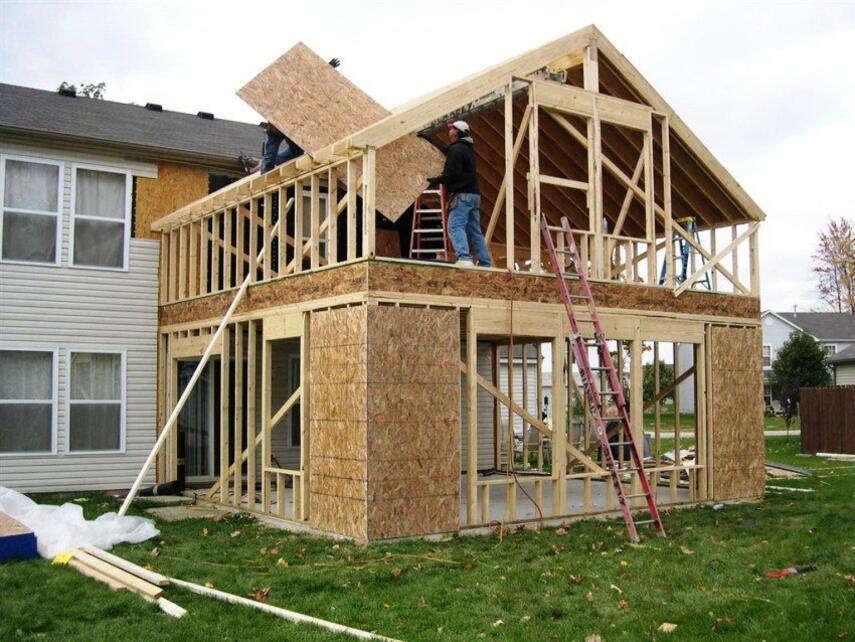 Каркасная пристройка к дому: самостоятельно собираем целостную конструкцию