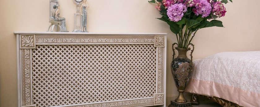 Декоративные решетки для радиаторов отопления: классификация и их виды