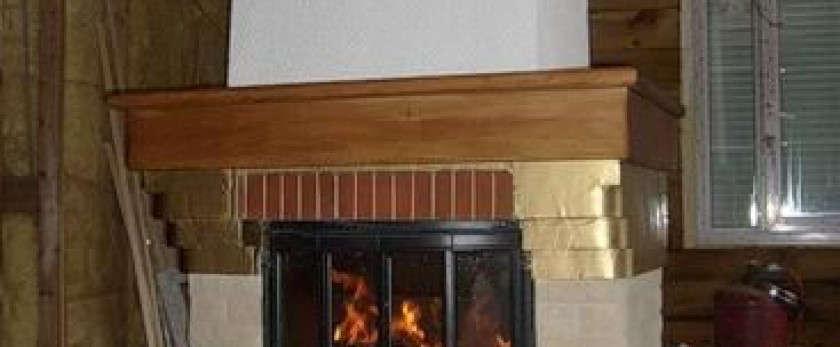 Дровяной кассетный камин для дома: установка и облицовка
