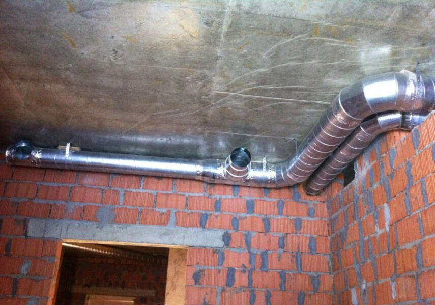 Вентиляция в кирпичном доме - схема, предназначение, инструкция, советы каменщиков