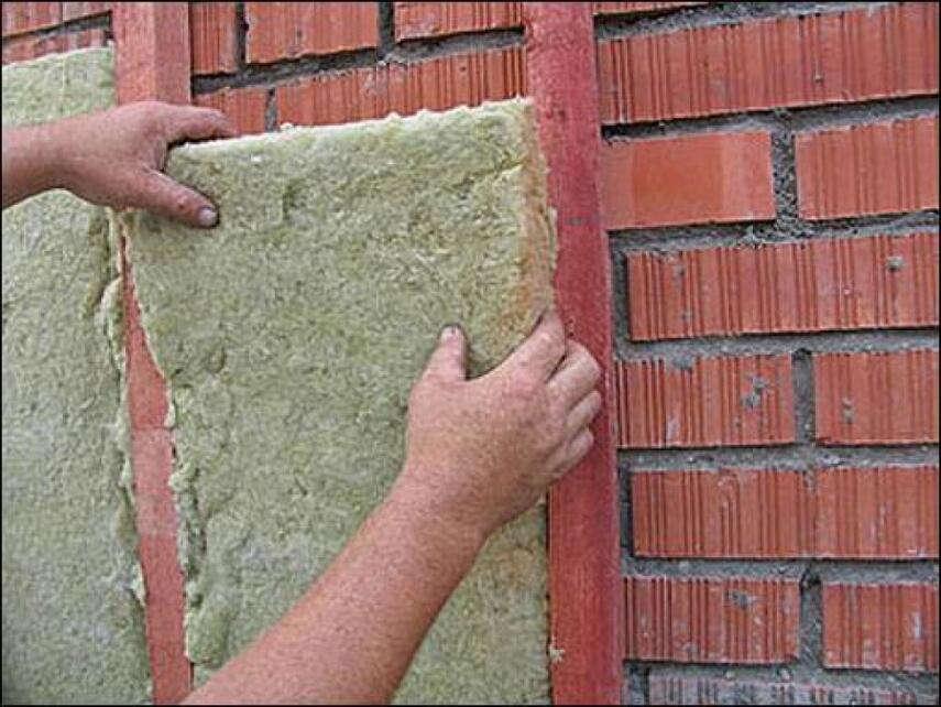 Утепление кирпичного дома снаружи - минватой, пенопластом, пенополистиролом, инструкция, советы каменщиков