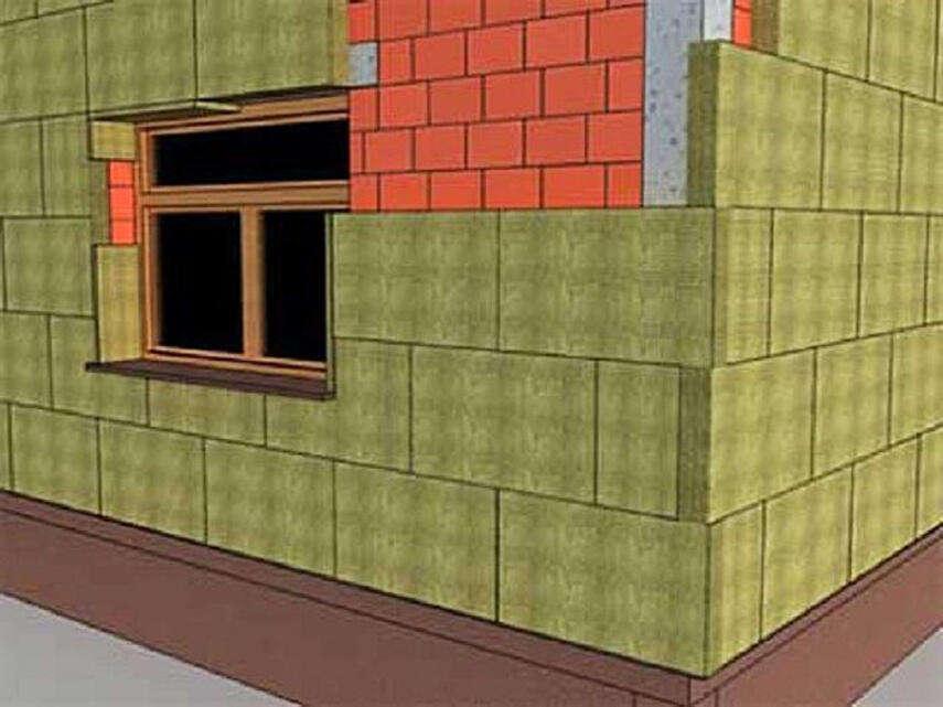 Утепление кирпичного фасада - теплоизоляция, термопанели, инструкция, советы каменщиков