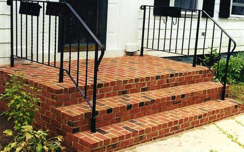 Лестница в доме из кирпича - виды, особенности фундамента, инструкция, советы каменщиков