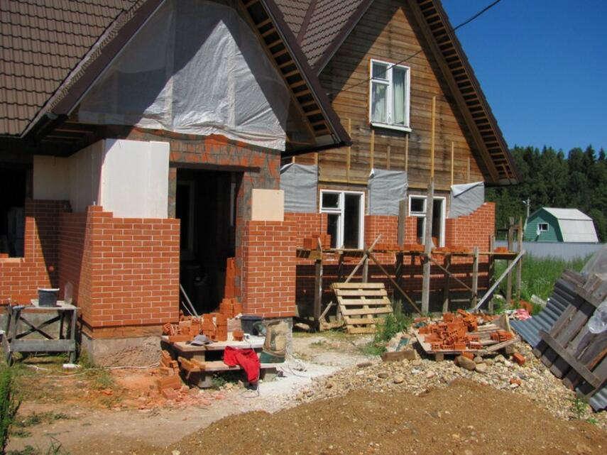 Как обложить деревянный дом кирпичом - кладка, подготовка, инструкция, советы каменщиков