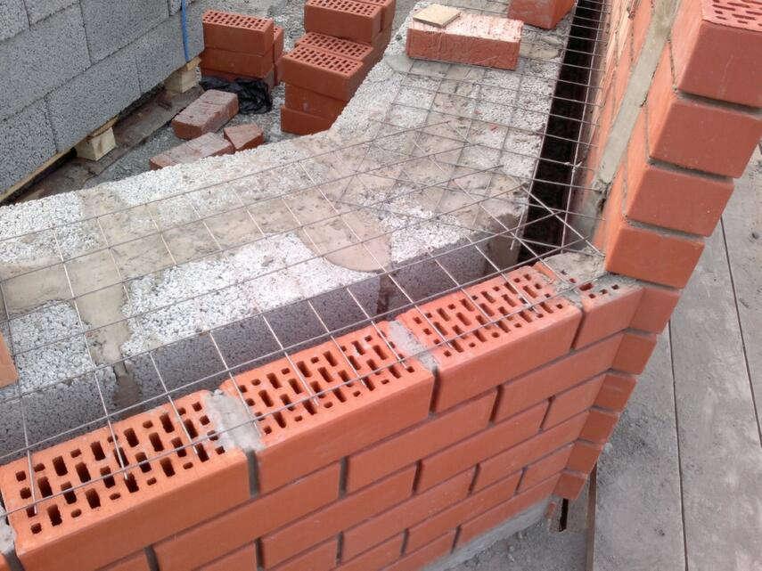 Облицовка дома из газобетона кирпичом - кладка, недостатки, инструкция, советы каменщиков