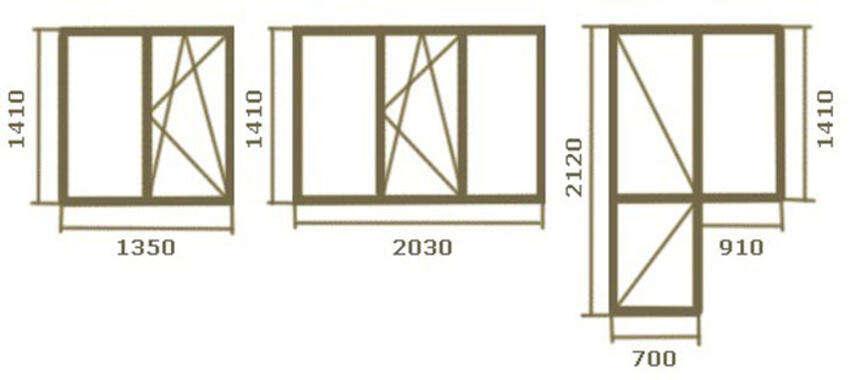 Размер стандартного окна в кирпичном доме - брежневки, хрущевки, сталинки, инструкция, советы каменщиков