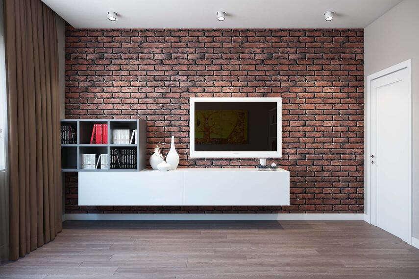 Плинтус у кирпичной стены - нужен ли, как крепить, инструкция, советы каменщиков