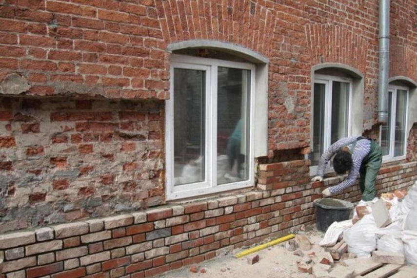 Как обновить старый кирпичный дом - способы, подготовка, инструкция, советы каменщиков