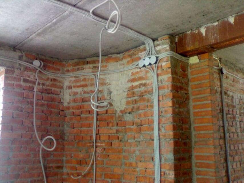 Схема электропроводки в кирпичном доме - как сделать разводку, инструкция, советы каменщиков