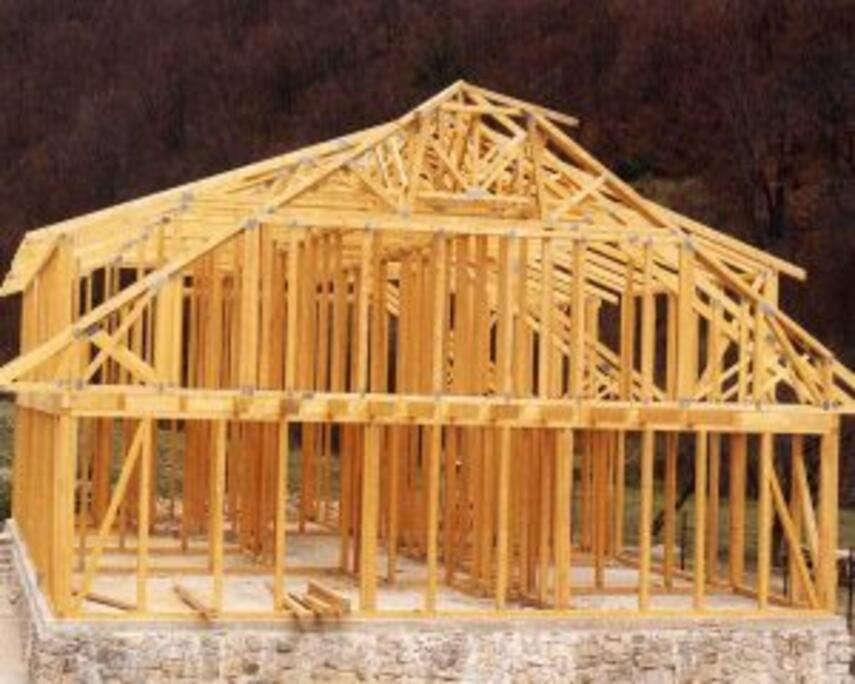 Устройство каркасного дома от фундамента до крыши здесь описано довольно подробно