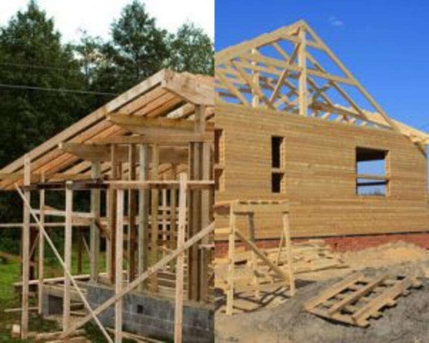 Какой выбор деревяных домов предпочтительнее, каркасный или брусовый