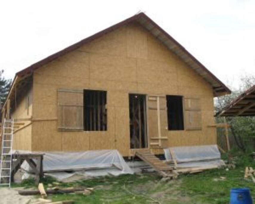 Каркасно-щитовые проекты домов — самое рациональное решение для дачных участков