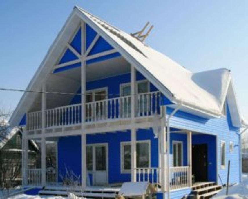 Каркасный зимний дом - качественный вариант жилья для постоянного проживания