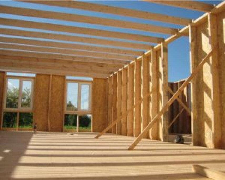 Каркасный дом своими руками: поэтапное выполнение работ