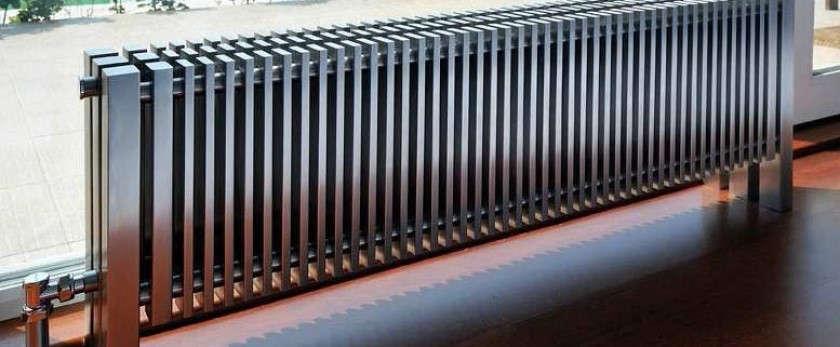 Низкие радиаторы. Алюминиевые горизонтальные биметаллические и стальные приборы