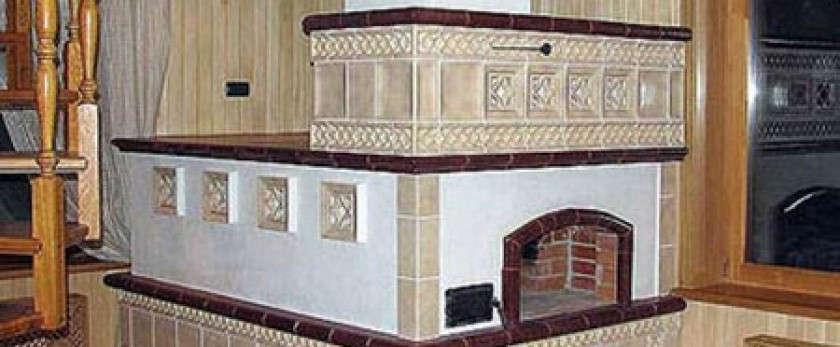Нюансы облицовки печей и каминов керамической плиткой