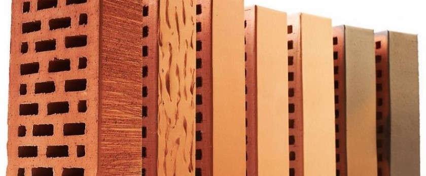 Облицовочный кирпич: виды материала и его свойства