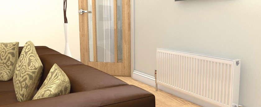 Панельные радиаторы отопления: конструкция особенности преимущества