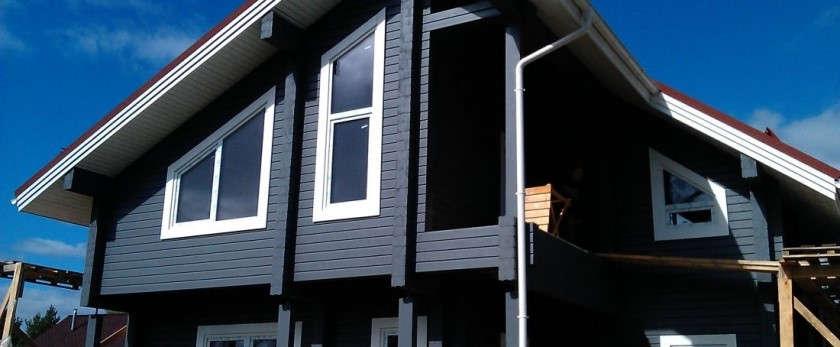 Сколько стоит покрасить дом снаружи
