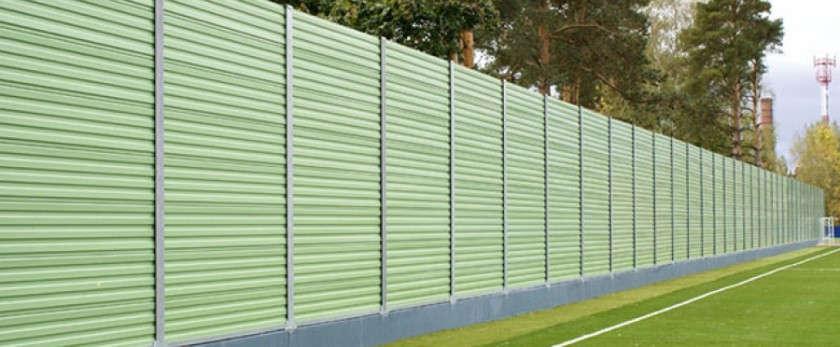 Шумопоглощающий забор: особенности и возведение