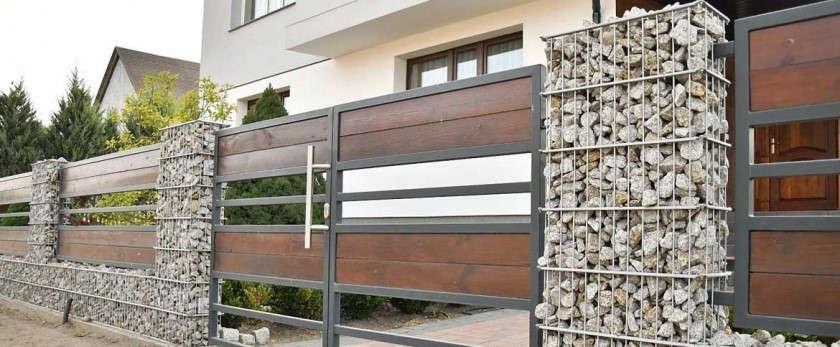 Забор из габионов своими руками: особенности выбора и установки