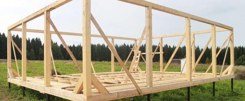 Выбираем фундамент для каркасного дома для выполнения своими руками