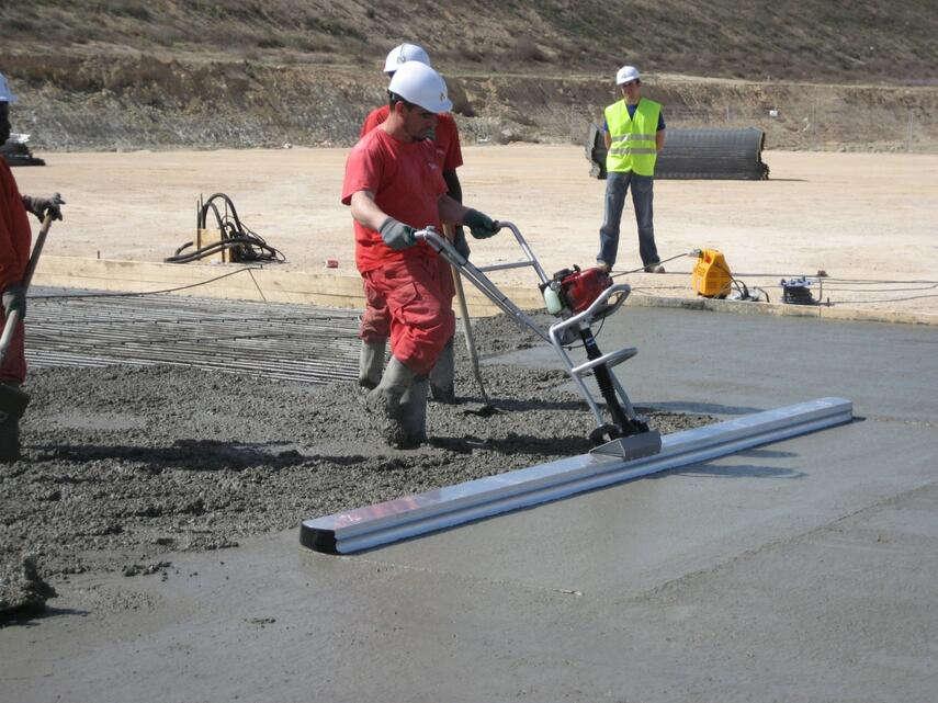 Виброрейка для бетона: как сделать своими