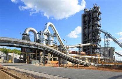 Коркинский цементный завод