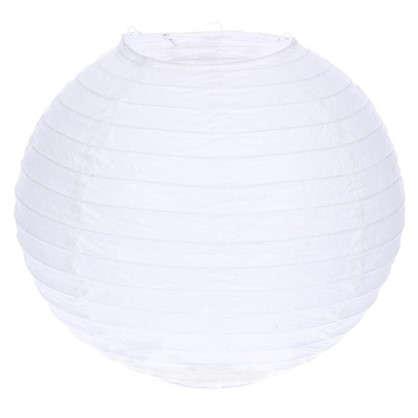 Купить Абажур Goa диаметр 30 см цвет белый дешевле