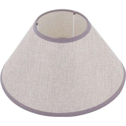 Абажур Лен А15128 E27 цвет серый