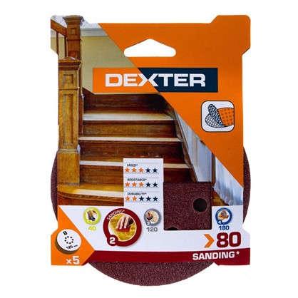 Купить Абразивный круг для ЭШМ Dexter P80 125 мм 5 шт. дешевле