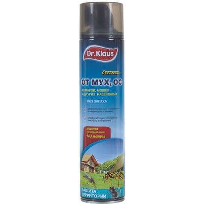 Купить Аэрозоль от мух ос и других насекомых Доктор Клаус дешевле