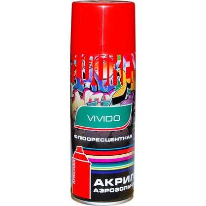 Аэрозоль Vivido флюоресцентная цвет красный
