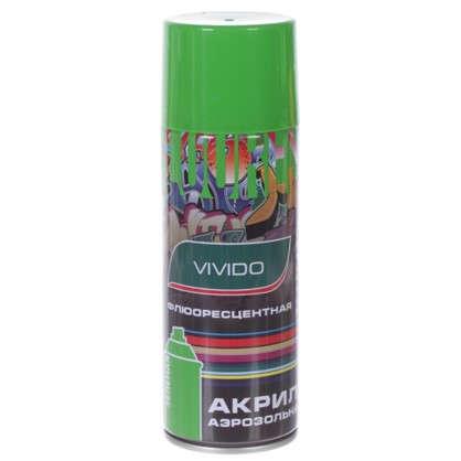 Аэрозоль Vivido флюоресцентная цвет зеленый