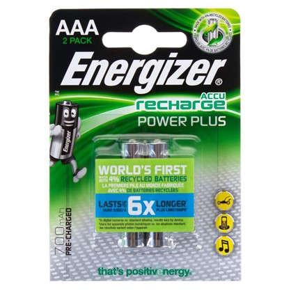 Аккумулятор Energizer Power Plus NH12 BP2 Pre-Ch 700 мА/ч 2 шт.