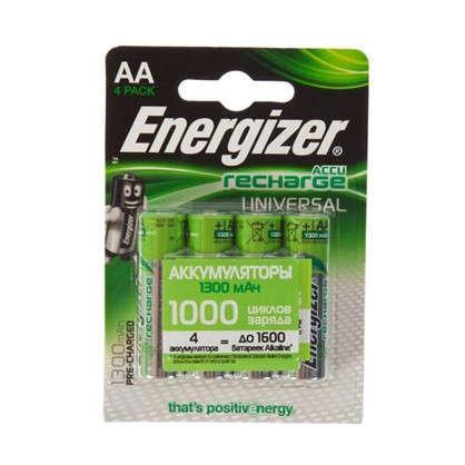 Аккумулятор Energizer Univ NH15 BP4 Pre-Ch 1300 мА/ч 2 шт.