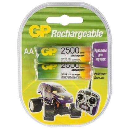 Аккумулятор GP AA Ni-Mh2500 мА/ч 2 шт.