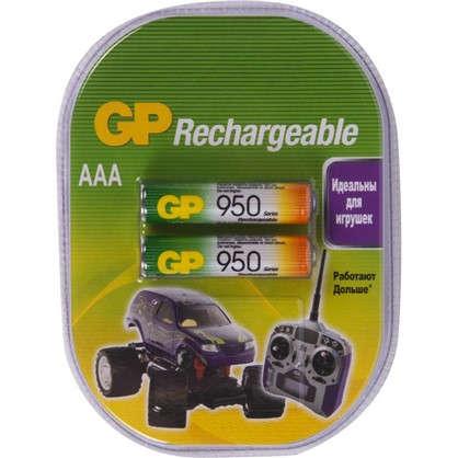 Аккумулятор GP AAA Ni-Mh 950 мА/ч 2 шт. цена