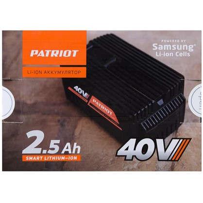 Аккумулятор Patriot 40В 2.4 Ah для газонокосилки