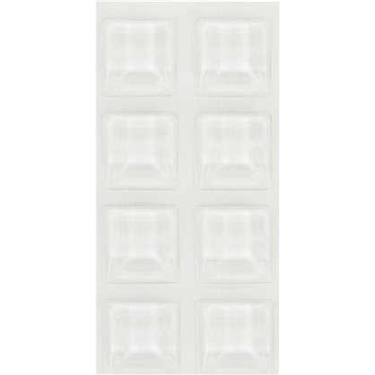 Купить Амортизатор самоклеящийся 12.7x12.7/3 прозрачный 8 шт. дешевле