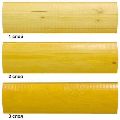 Антисептик для дерева Akvateks цвет калужница 0.8 л