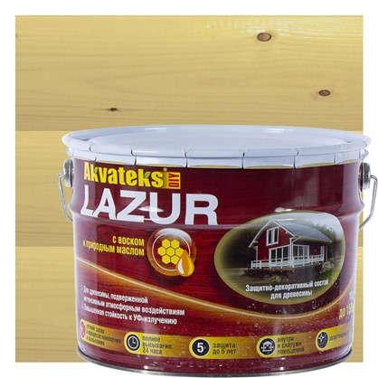 Купить Антисептик для дерева Akvateks цвет сосна 10 л дешевле