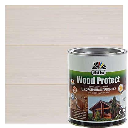 Антисептик Wood Protect цвет белый 0.75 л