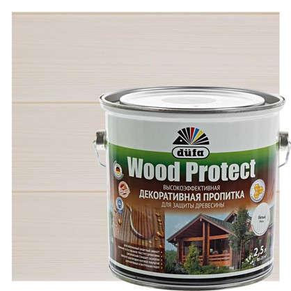 Антисептик Wood Protect цвет белый 2.5 л