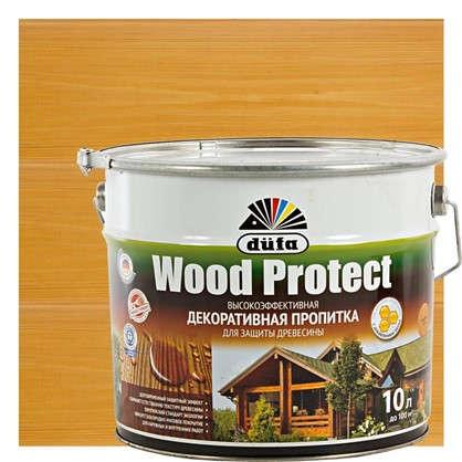 Антисептик Wood Protect цвет сосна 10 л