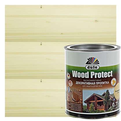 Купить Антисептик Wood Protect прозрачный 0.75 л дешевле