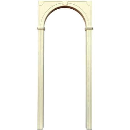 Арка Палермо цвет белая эмаль