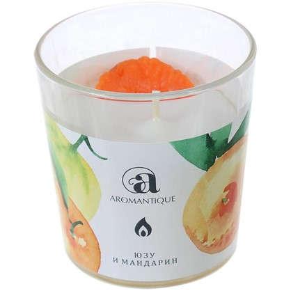 Купить Ароматизированная свеча Юзу и мандарин дешевле