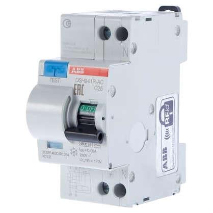 Дифференциальный автомат Abb 2 полюса 25 А 2CSR145001R1254