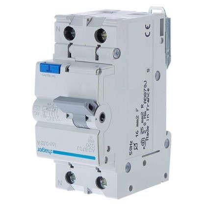 Дифференциальный автомат Hager 1 полюс 20 А